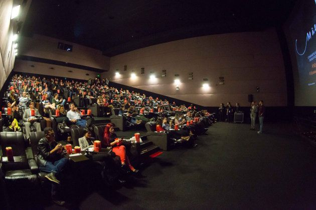 19 de septiembre de 2017. Visionado especial de la película 'Madre!' en el Cinemark Cidade de Sao Paulo