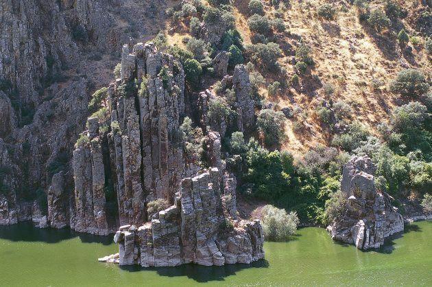 El Salto del Gitano en el Parque Nacional de Monfrague,