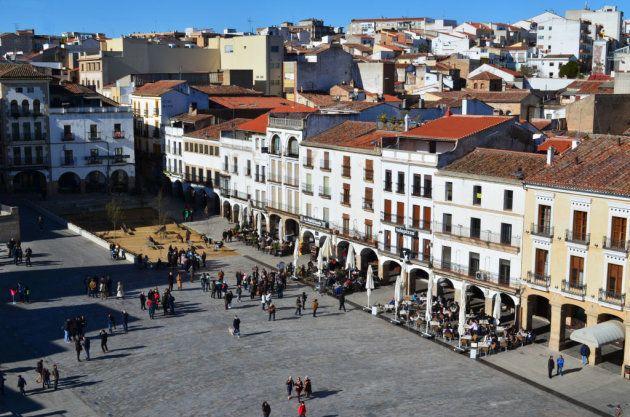 Plaza Mayor de Cáceres,