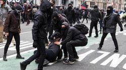 Protestas en Washington durante la toma de posesión de