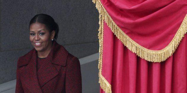 El último vestido de Michelle Obama como Primera