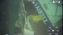 Salvamento Marítimo recupera los cadáveres de dos marineros ahogados tras chocar con un mercante