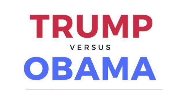 Donald Trump y Barack Obama: dos presidentes opuestos, dos tomas de posesión muy