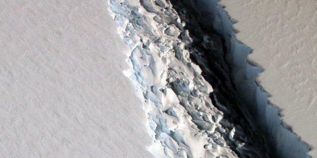 La Antártida se rompe, pero no es (sólo) por el cambio