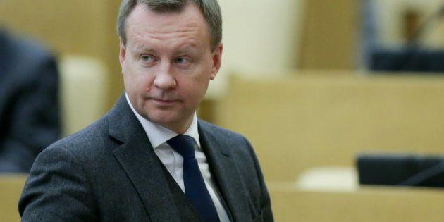 Denis Voronenkov en una sesión plenaria de la Cámara Baja del Parlamento ruso. Anna Isakova/State Duma...
