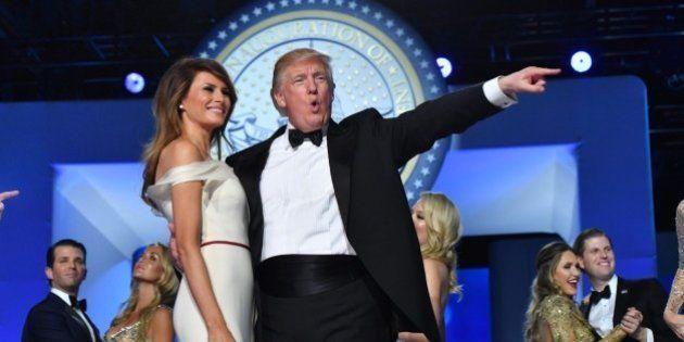 Trump redecora el Despacho Oval con cortinas doradas y un busto de