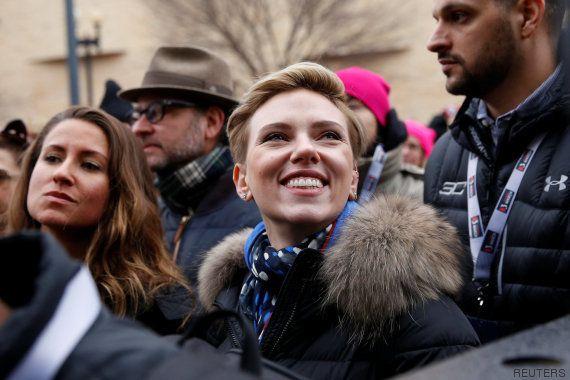 Famosas contra Trump: así vivieron la Marcha de las