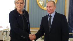 Putin ignora el 'qué dirán' y recibe a Marine Le Pen a un mes de las elecciones en