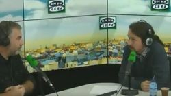 El 'enganchón' en directo entre Carlos Alsina y Pablo