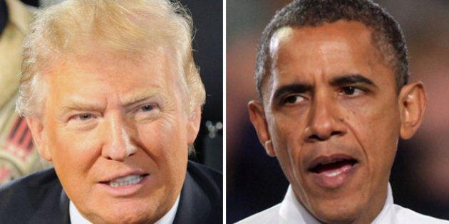 La diferencia entre Trump y Obama, en un solo