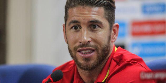 El futbolista Sergio