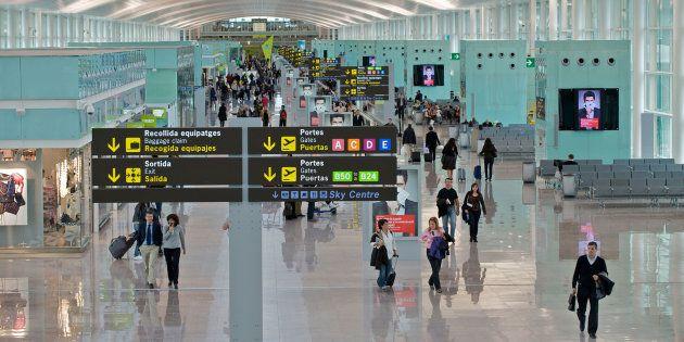 Imagen de archivo de la terminal 1 del aeropuerto barcelonés de El