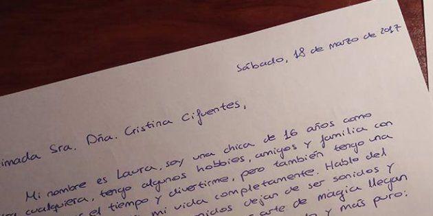 La emotiva carta de una joven a Cifuentes para que no se cierre el Conservatorio en el que