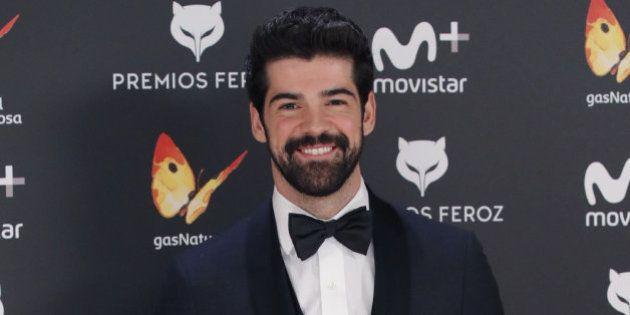 Miguel Ángel Muñoz acude a los premios Feroz con la etiqueta