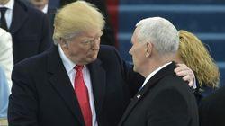 Hay una foto de Trump y Pence que está dando mucho juego en