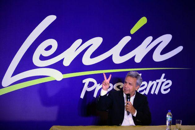 Lenín Moreno, candidato a la presidencia de Ecuador por Alianza