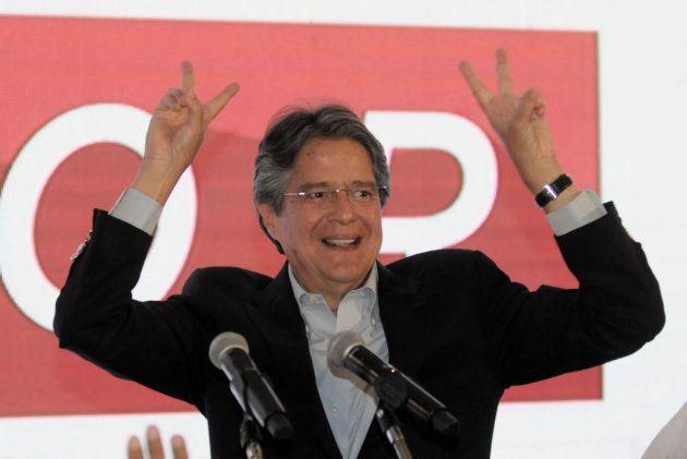 Guillermo Lasso, candidato a la presidencia de Ecuador por el Movimiento