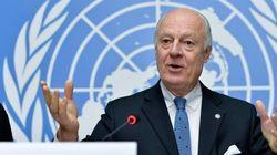 El enviado de la ONU se muestra