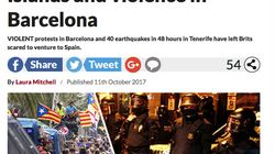 La loca advertencia de un diario británico a los turistas que viajan a