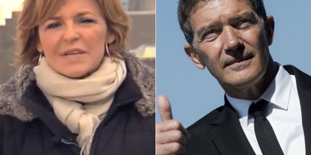 Rifirrafe en Twitter entre Antonio Banderas y Almudena