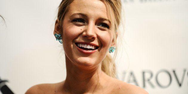 La actriz Blake Lively en una gala en Nueva York en mayo de