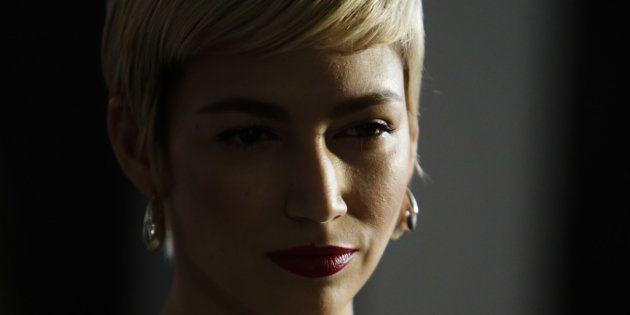 La actriz Úrsula Corberó durante el photocall de 'La Casa de Papel' en