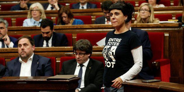 La CUP exige a Puigdemont que su respuesta al Gobierno sea