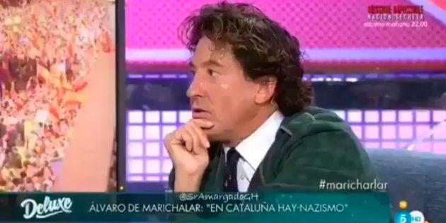 La esperpéntica entrevista a Álvaro de Marichalar que sacó de quicio a Jorge Javier