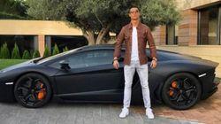 Cristiano se queda 'tirado' en Navacerrada con su Lamborghini por sus dolores de