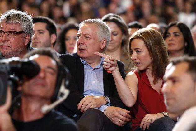 Detrás de los focos de la candidatura de Díaz: 'Carma', la falsa sobrina de Guerra y un 'hit' de