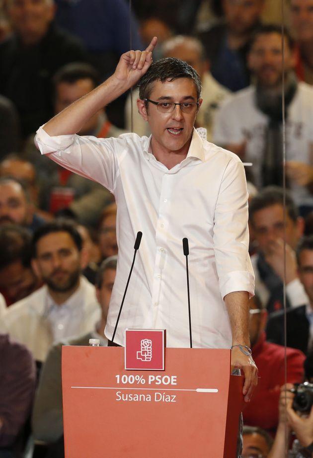 GRA191. MADRID, 26/03/2017.- El diputado socialista y coordinador de la ponencia política, Eduardo Madina,...
