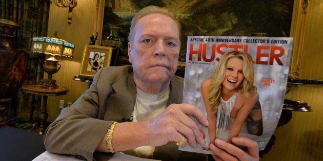 Larry Flynt, el 'rey del porno' de EEUU, ofrece 10 millones por información contra