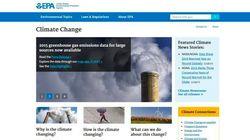 Trump ordena retirar la web sobre cambio