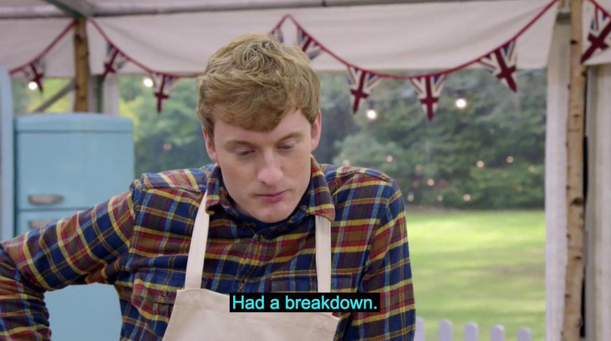 This 'Bake Off' Meme Is Highly Relatable To Anyone Who Has Ever Failed
