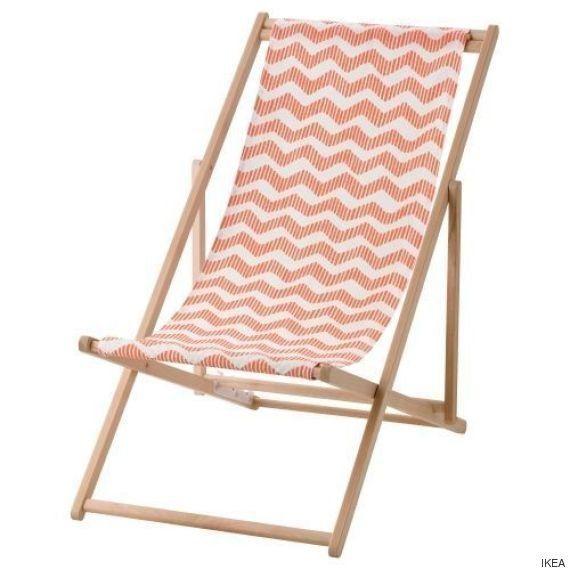 Ikea retira unas sillas de playa por posibles caídas o atrapamiento de