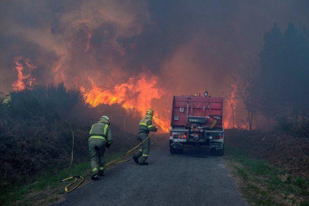 Al menos cuatro muertos en Galicia y 31 en Portugal por la oleada de