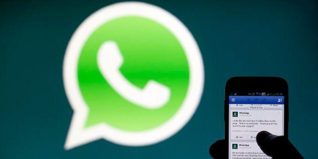 El logo de WhatsApp. REUTERS/Dado
