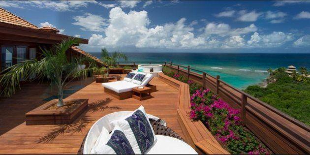 Barack y Michelle Obama, de vacaciones en la isla privada de un