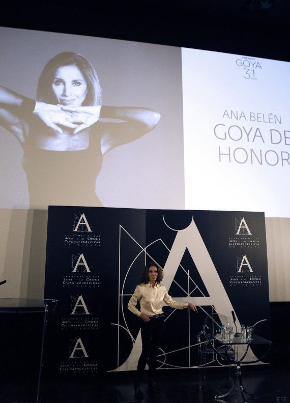 Ana Belén, Goya de Honor 2017: