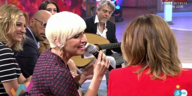 La tremenda metedura de pata de Toñi Moreno durante una entrevista con Pasión