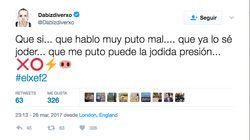 La respuesta de Pedroche a este tuit de Dabiz Muñoz por su