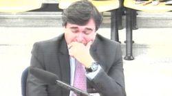Un acusado del caso Gürtel rompe a llorar en el juicio