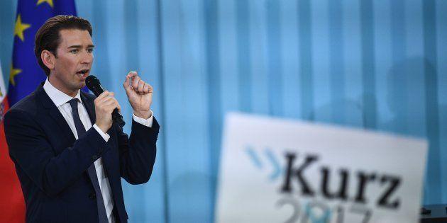 Sebastian Kurz, líder y candidato del Partido Popular Austriaco