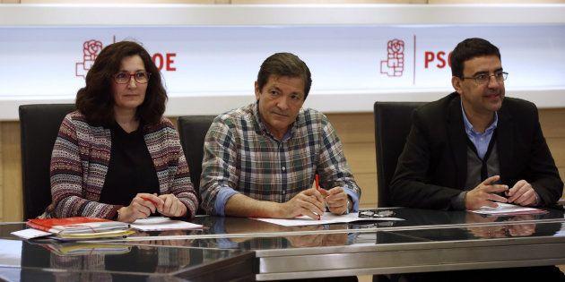 Ascensión Godoy, Javier Fernández y Mario