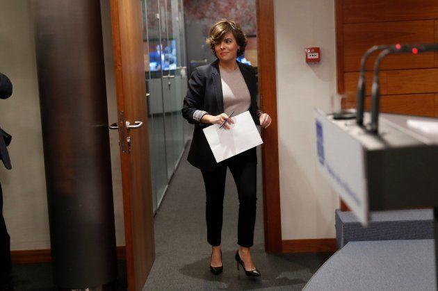 El Gobierno traslada a Puigdemont que tiene todavía tres días para rectificar y que no se aplique el
