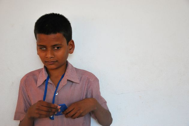 Suribabu, el niño 'dálit' que quiere ser