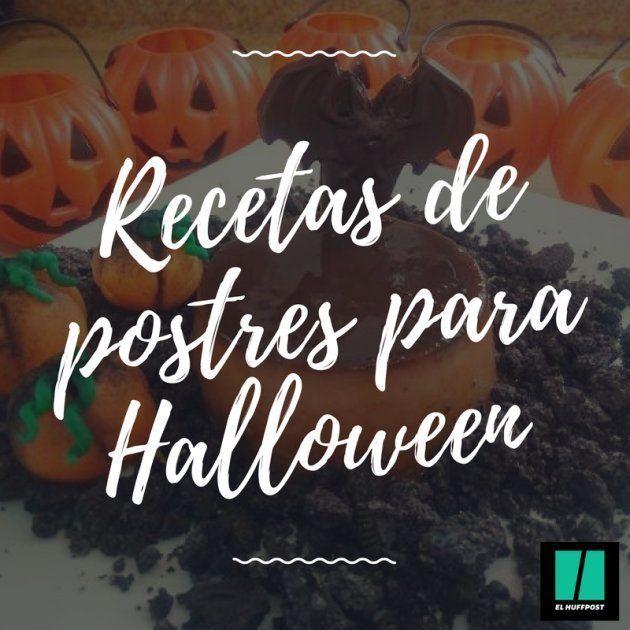 Seis recetas de postres de Halloween con
