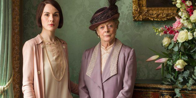 Las actrices Michelle Dockery y Maggie Smith son Lady Mary y la condesa