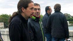 La celebrada 'bronca' de Monedero y (un falso) Pablo Iglesias: