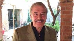 El expresidente mexicano Vicente Fox trolea a Trump con el hashtag